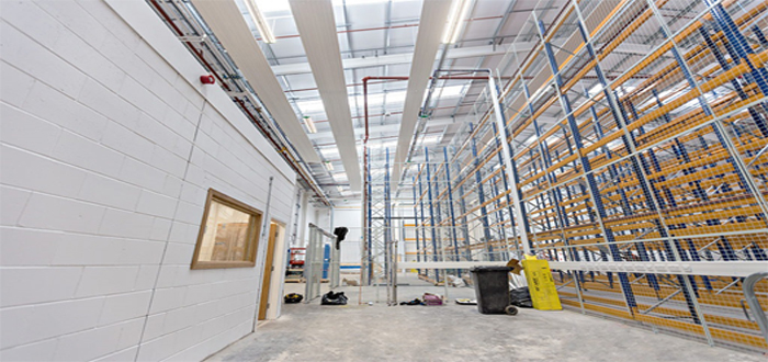 LED & Intelligent Controls, the future of sustainable warehouses.