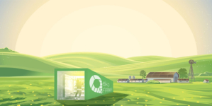 Farming module provides locally produced food all year round.