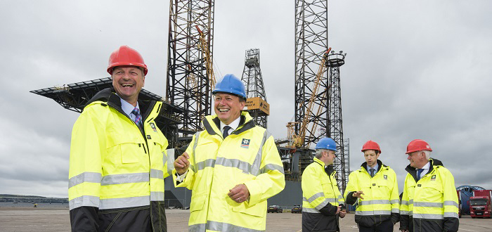 Strategic step towards decommissioning at Port of Dundee.