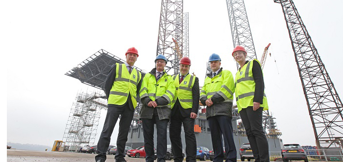 £10million investment programme to create a hub for future North Sea oil and gas operations and offshore wind projects.