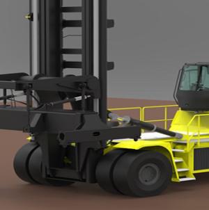 Hyster develops 48 tonne electric truck.