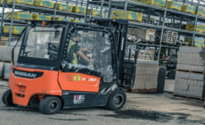 Covers Timber and Builders Merchants looks to the future with Doosan electric trucks.