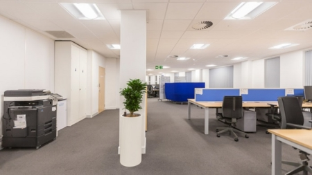Dextra Lighting and Polar Air partner to ensure quality, value and sustainability for Compass South Office Renovation.