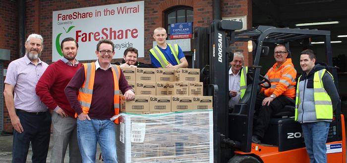 Windsor Helps FareShare Fight Food Waste.