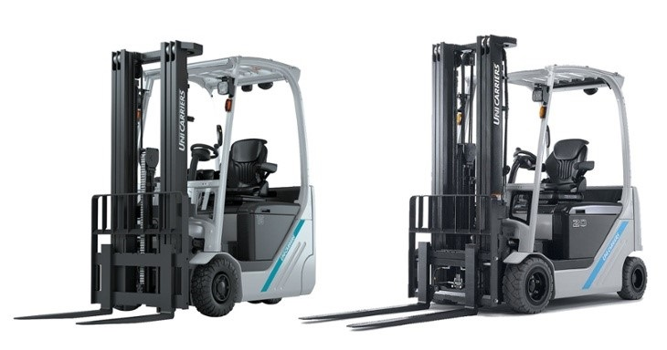 UniCarriers electric TX series has  ten new models .