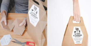 Packaging with a conscience, Versatility meets playful wine.