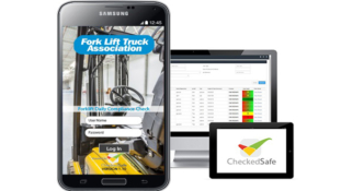 NEW APP FOR FORKLIFTS MAKES DAILY CHECKS PAPERLESS.