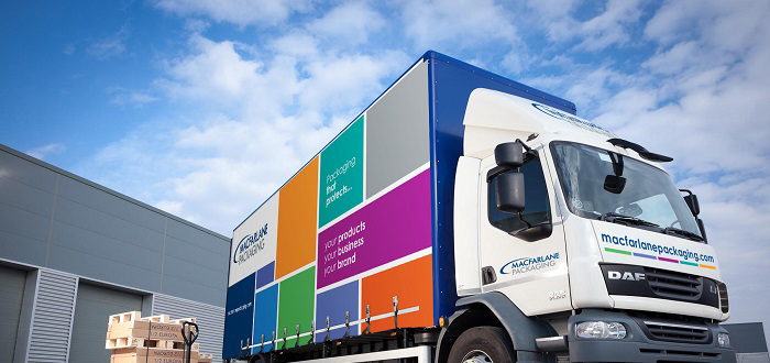 MACFARLANE PACKAGING INVESTS IN TRUCK FLEET UPGRADE IN DEAL WITH FRAIKIN.