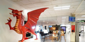 Salisbury Group helps Cardiff Airport fly ahead of the competition.