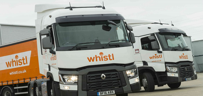 Whistl's Fuel Efficiency Scores with the Help of Isotrak.