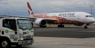 Fuelling the 'flying kangaroo': Air BP supplies historic 17-hour flight.