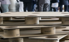 Alpesa introduces pallets made from 100% recycled carboard at Modex 2018.