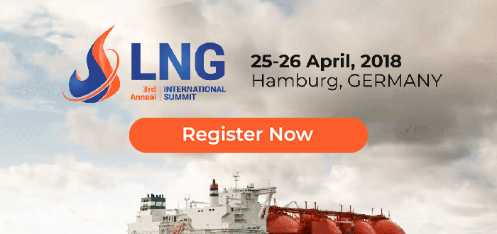 LNG to be Discussed at Annual Summit in Hamburg (April 25-26, 2018).