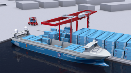 Kalmar and Yara to develop world's first fully-digitalized and zero emission cargo solution for Yara Birkeland.