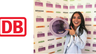 2018 DB Cargo UK's Head Of Planning Flies The Flag For Women In Rail Freight After Scooping A National Award.