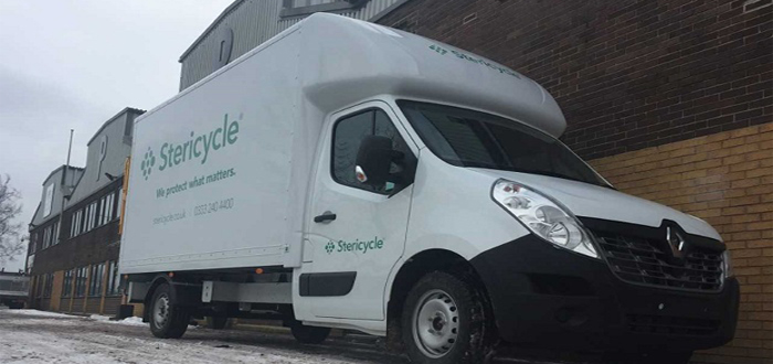 Stericycle selects SURECAM connected vehicle camera to boost safety and cut fleet costs.