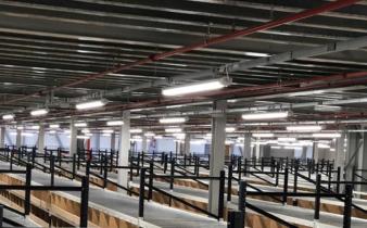 Ecolighting upgrades Debenhams Warehouse to LED Lighting.