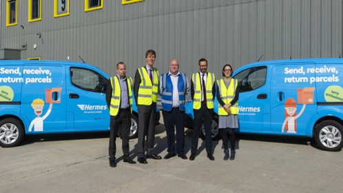 Hermes boosts sustainability credentials as it expands Electric fleet.