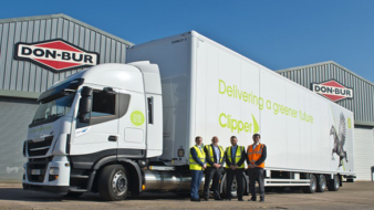 Clipper Logistics have introduced to its fleet in 11 new vehicles and 16 trailers designed to reduce carbon emissions.