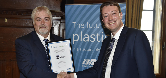 PD Ports Become First UK Port Operator To Commit To Preventing Plastic Pellets From Leaking Into The Sea.