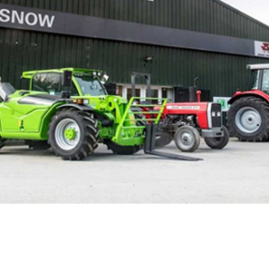 Leading tractor distributor gives workshop lighting complete overhaul.