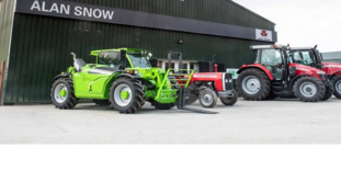 Leading tractor distributor gives workshop lighting complete overhaul.