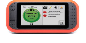 New Truck iQ dashboard display gives materials handling vehicle drivers real time visibility of battery status