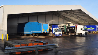 Custom designed vehicle loading bay supports growth and efficiency