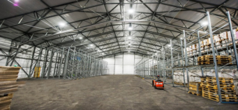 The continuing growth of online shopping drives demand for new adaptable warehousing