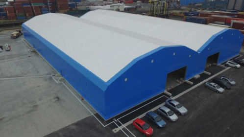 Port of Tilbury still reaping the benefits of 30-year-old Rubb warehouse