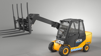 See JCB'S new electric-powered Teletruk at IMHX 2019