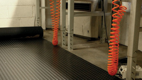 New Studded Rubber Flooring to the trusted range of products from First Mats.