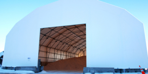 Local councils drive to increase salt warehouse capacities ahead of winter.