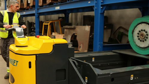 Combilift and Aisle Master: four stands, plenty to see