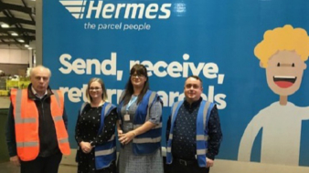 MP visits Hermes depot to see the firm's commitment to the south