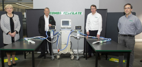 Combi-Ventilate – turning one ventilator into multiple engineered ventilation stations