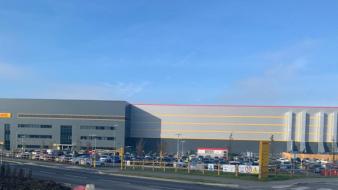 BRANDSAFE SPECIFIED FOR DHL'S NEW EAST MIDLANDS DISTRIBUTION CENTRE