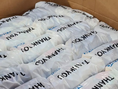 Partnership distributes 20,000 'thank you' bags to frontline NHS workers