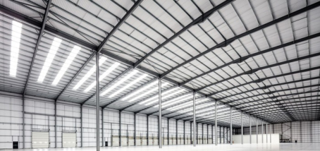 Ergo Real Estate's £25 million high-spec logistics hub in Markham Vale North is now ready to occupy.