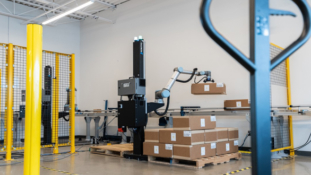 SIMPLE, FLEXIBLE AUTOMATED PALLETISING SOLUTION